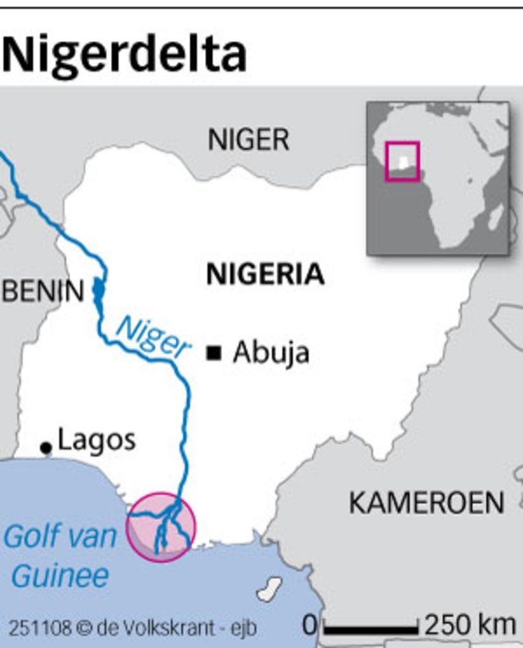 Nigerdelta (de Volkskrant) Beeld null
