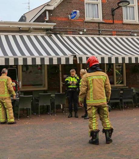 Brand in Café 't Hart van Helmond