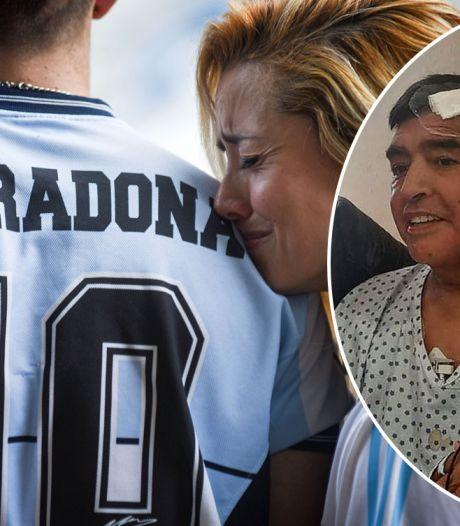 """Les derniers jours de Maradona: """"Il était anxieux et dépressif"""""""