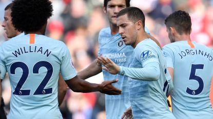 Niet te stoppen: Eden Hazard blijft scoren en aangeven bij Chelsea
