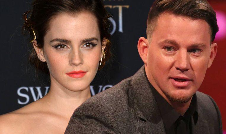 Hoewel Channing Tatum en Emma Watson normaal samen in enkele scènes te zien waren, stak Watson daar eigenhandig een stokje voor.