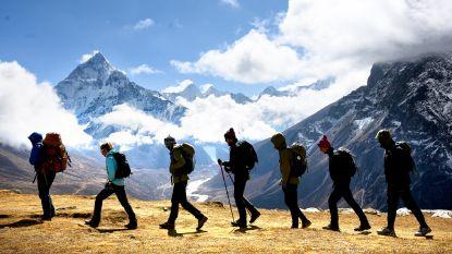 10 om te zien: de mooiste foto's van het Mount Everest-avontuur van de Belgian Tornados
