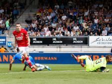 RKC-doelman Heemskerk maakt eredivisiedebuut na uitvallen Vaessen: 'Voor mij een mooi moment'