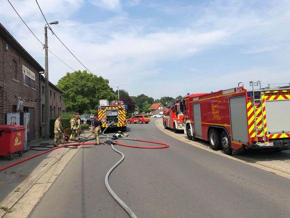De brandweer had het vuur gelukkig snel onder controle.