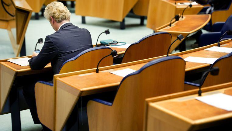 Naarmate de PVV groter wordt, wordt de kans op politieke macht voor die partij alleen maar kleiner. Beeld ANP