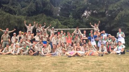 Scouts Bergrakkers viert 70ste verjaardag, en dat feest wil burgemeester Partyka voor geen geld missen