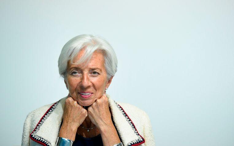 IMF-directeur Christine Lagarde.  Beeld AFP