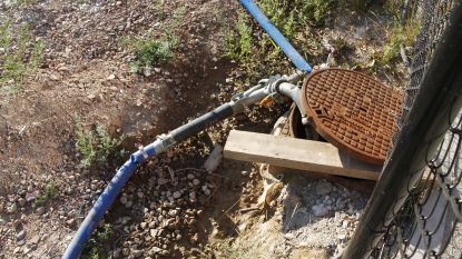Water dat wegstroomt aan 'Pier Kornel' kan niet zomaar opgevangen worden