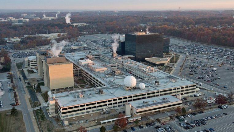 Hoofdkwartier van de Amerikaanse inlichtingendienst NSA. Beeld photo_news