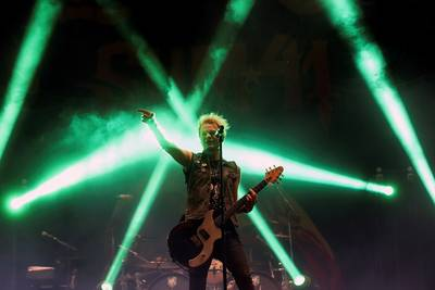Sum 41 geeft show in AFAS Live