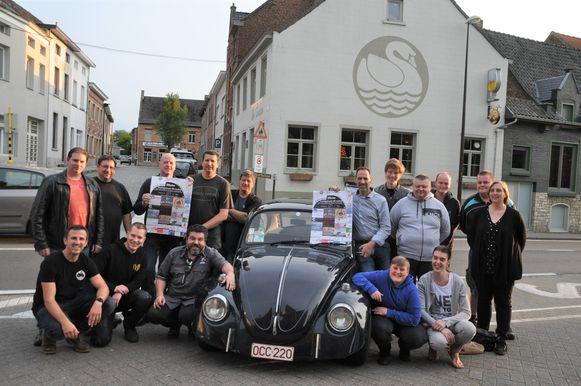 Volkswagen Keverclub B. Bunny's organiseert opnieuw het Luchtgekoeld Volkswagen Treffen aan het Kasteel van Beersel