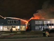 Zeer grote brand treft Zoetermeerse ondernemers