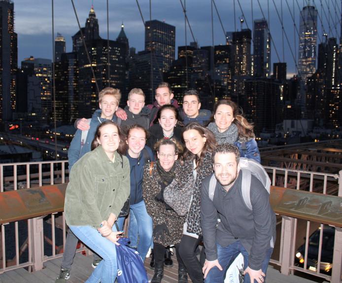 De laatste reis van het econasium naar New York.