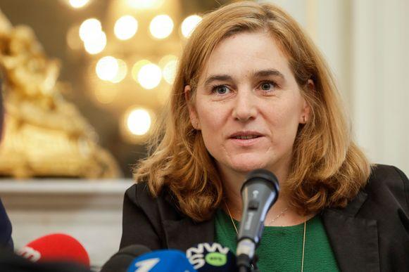 Brussels minister van Mobiliteit Elke Van den Brandt (Groen).