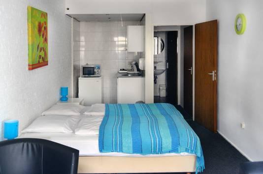Een kamer in het Valkenburgse hotel