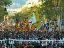 Massaal protest van Catalanen na ontslag bestuurders