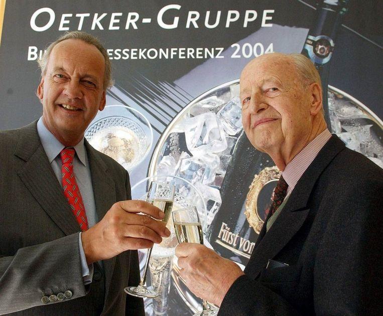 August (L) en Rudolph-August Oetker.
