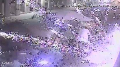Plots vuurwerk gegooid in restaurant: 1 zwaargewonde