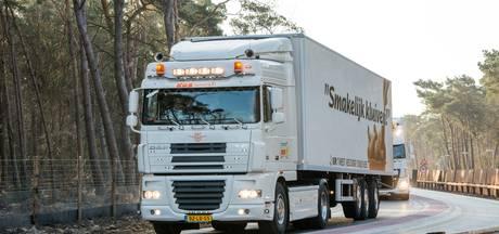 Rondweg in gebruik: geen vrachtwagens met kipkluifjes meer door Nunspeet