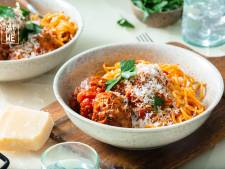 Wat Eten We Vandaag: Spaghetti met gehaktballen in tomatensaus