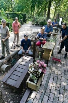 Genieten met handen en voeten in Zintuigentuin in Geldrop