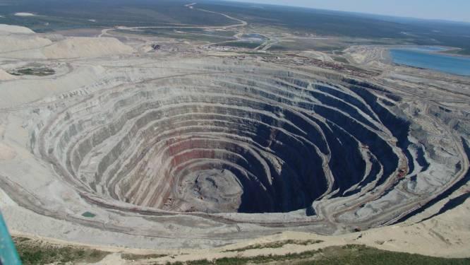 """Siberische mijnwerkers vinden """"gemummificeerd monster"""""""