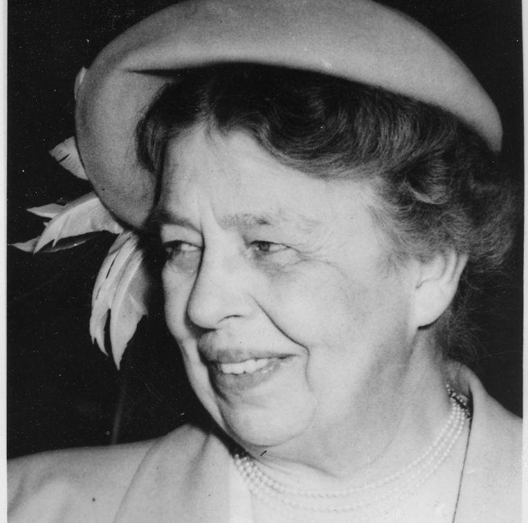 Eleanor Roosevelt.