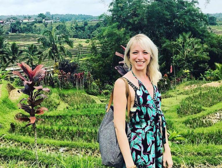 Heidi Van Tielen in Bali.