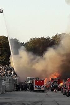 Directeur Baetsen over afvalbrand in Son: 'dit is niet te voorkomen'