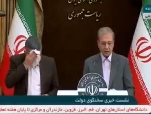 Malade en conférence de presse, le vice-ministre iranien de la Santé testé positif au coronavirus