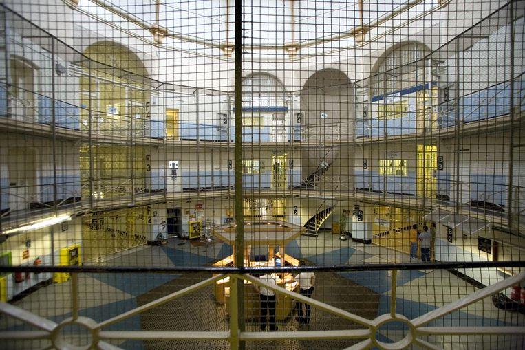 De Wandsworth-gevangenis in het zuidwesten van Londen. Beeld Antonio Olmos / THE GUARDIAN