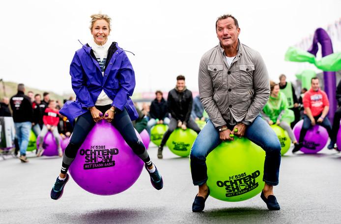 Het was vandaag dan wel regenachtig, maar dat mocht de pret niet drukken bij de eerste 538 Skippybal Race. Zo'n 200 mensen kwamen af op het evenement op Circuit Zandvoort.