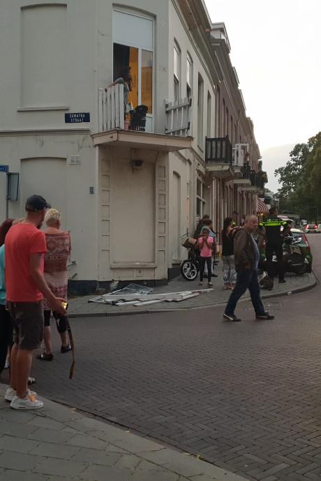 Vrouw valt woensdagavond van balkon in Arnhem