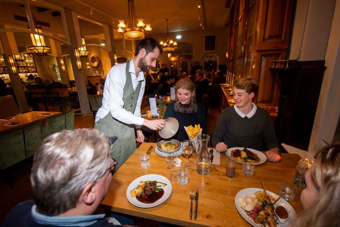 Over de Tong ging eten bij restaurant Wilde Pieters in Apeldoorn.