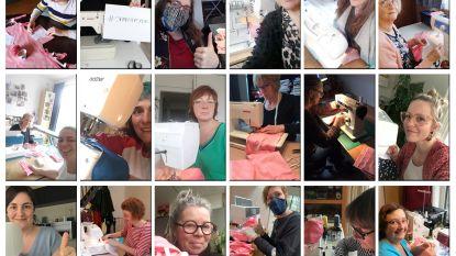 Hartverwarmend: 160 vrijwilligers helpen mee om mondmaskers te maken voor wie buitenshuis werkt