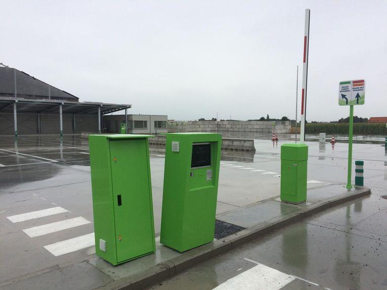 Het nieuwe recyclagepark in de Landetbeekstraat in Langemark-Poelkapelle kreeg ook al dieven over de vloer.