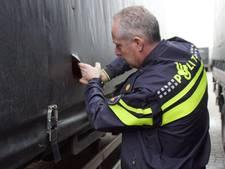 Gestolen trailer terug, ladingdieven in beeld