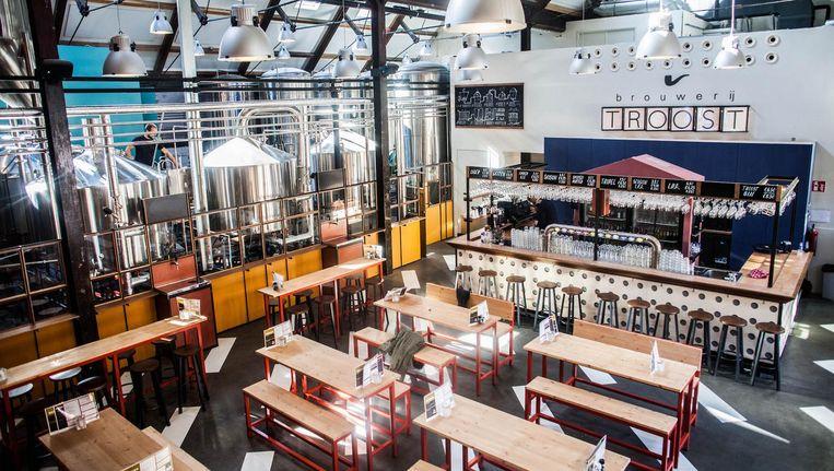 Brouwerij Troost zit momenteel ook in De Pijp en op het Westergasterrein (foto) Beeld Anjali Ramnandanlall