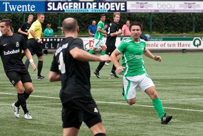Rhebergen als speler van HSC'21.