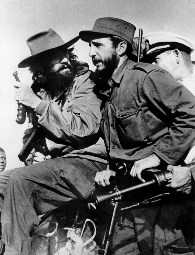 Fidel Castro in Havana na de verovering op Batista in 1959.