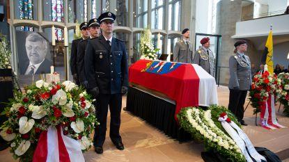 """Uitvaart vermoorde Duitse politicus: """"Lieve papa, je dood is onbegrijpelijk"""""""