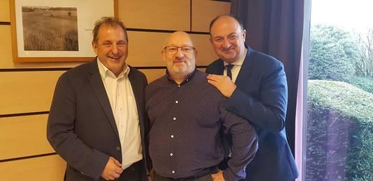 Avec Benoît Piedboeuf et Willy Borsus