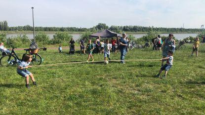 Verkiezingen zorgen voor origineel schoolfeest op verplaatsing aan Scheldeoever