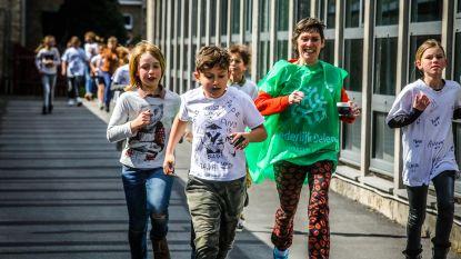 Sint-Pietersschool zamelt 4.300 euro in voor Broederlijk Delen met sponsorloop