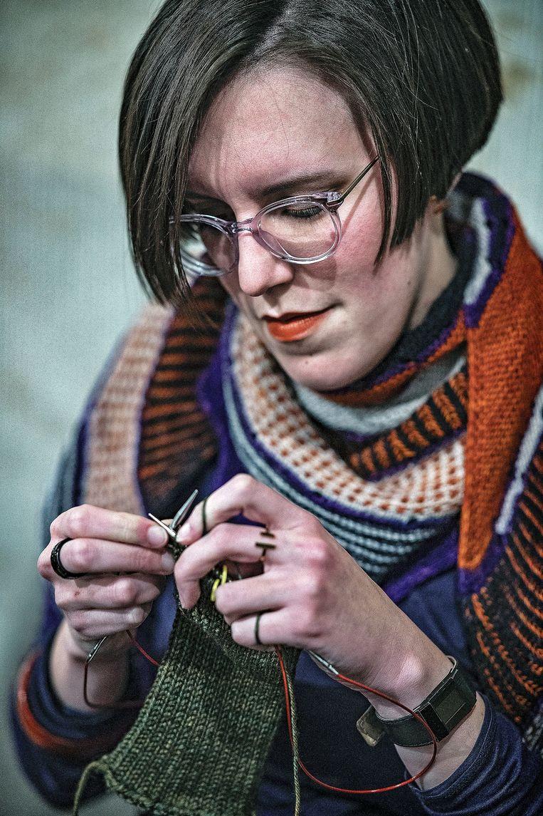 Breien verbindt op breiplatform Ravelry 8 miljoen liefhebbers van breien. Beeld Guus Dubbelman