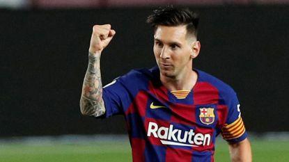 """Bartomeu weerlegt geruchten: """"Messi zei me dat hij carrière afsluit bij Barça"""""""