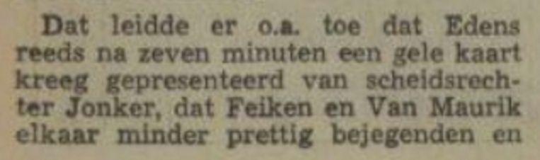 Nieuwsblad van het Noorden, 14-8-1972 Beeld Archief