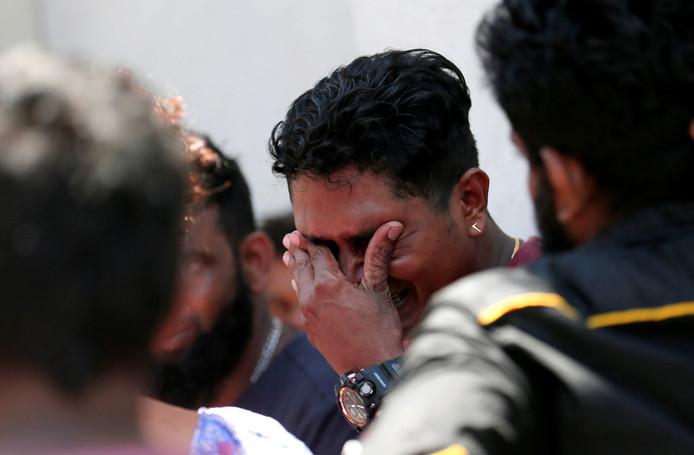 Diep verdriet bij familie van een van de slachtoffers van de aanslagen.