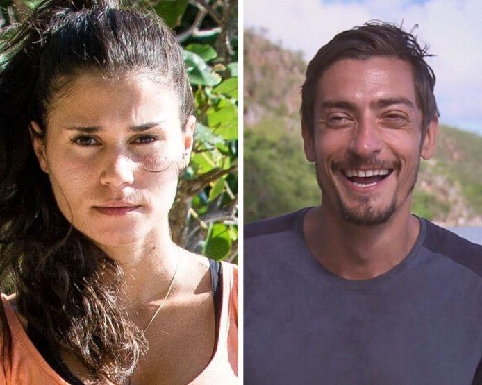 Ines et Claude de Koh-Lanta 2020, l'île des héros.