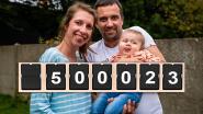 """LIVE. Sms-actie voor baby Pia zit over de helft met 500.023 berichtjes: """"Hier zijn geen woorden voor"""""""